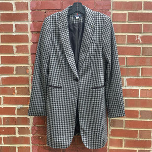 Tommy Hilfiger Topper Blazer Jacket Elbow Patches
